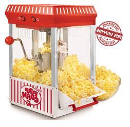 Nostalgia Popcorn Maker Popper Machine Tabletop Kettlecorn V