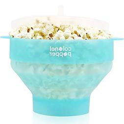 Colonel Popper Popcorn Popper Microwave Popcorn Maker Silico