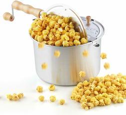 Popcorn Original Spinner Popper Stovetop 6 1/2 Quart Popcorn