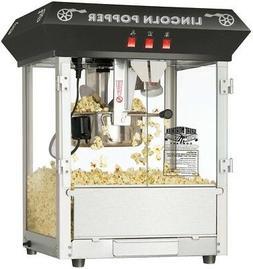 Popcorn Popper Machine 3-Switch Scoop Tempered Glass Doors S