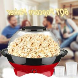 Popcorn Popper Machine Electric Hot Oil Stirring Popcorn Mak
