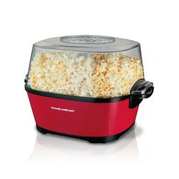 Popcorn Popper Machine Electric Hot Oil Stirring Popcorn Mak