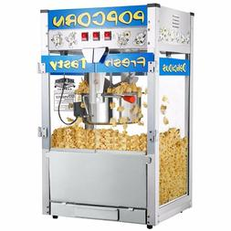 Popcorn Popper Machine Maker Hot Movie Kettle Commercial Qua