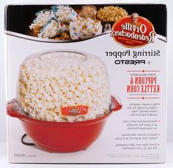 Popcorn Stirring Popper Orville Redenbacher's Presto 6 QT Br