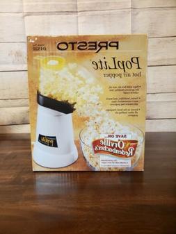 Presto Poplite Gourmet Hot Air Popcorn Popper Model 04820 Br