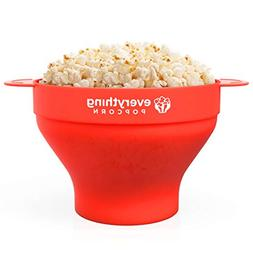 PopUp Silicone Popcorn Popper - Collapsible Silicone Popcorn