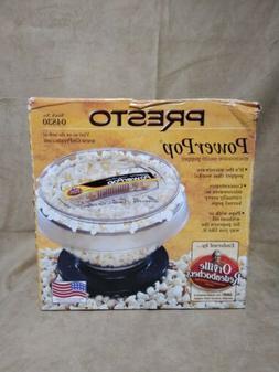 Presto Power Pop Microwave Popcorn Popper model 04830 - New