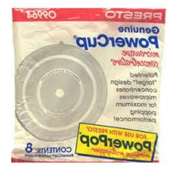 """Presto 09964 """"Power Cup"""" Microwave Concentrator 8-Pack"""