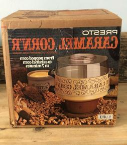 Presto Caramel Corn'R Popcorn Maker Machine Poppers