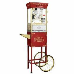Great Northern Popcorn Red Antique Style Popcorn Popper Mach