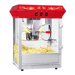 Red Foundation Electric Popcorn Popper Machine, 8 Ounce Tabl