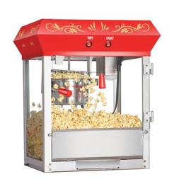 red foundation popper machine