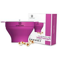 Zoltan Lifestyle silicone healthy microwave popcorn popper b