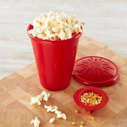 Silicone Microwave PopCorn Maker Popcorn Bucket Container Ho