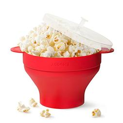 Silicone Microwave Popcorn Maker Popper – Holds Up to 10 C