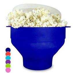FidgetFidget Silicone Microwave Popcorn Popper Maker Collaps