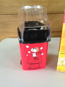 Peanuts Snoopy Popcorn Popper Electric Air Pop Red