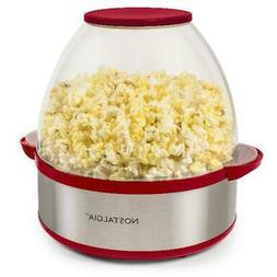 Nostalgia Speed-Pop Popcorn Popper w/ Removable Plate, 6 qt.