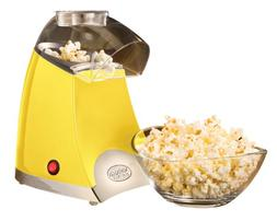 Nostalgia Electrics Star Pop Hot Air Popcorn Popper, Yellow,
