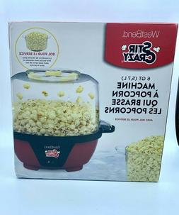 STIR CRAZY West Bend 82505 Crazy Electric Hot Oil Popcorn Po