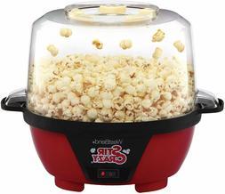 Stir Crazy Electric Hot Oil Popcorn Popper Machine, 6-Quart,