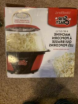 West Bend Stir Crazy Electric Popcorn Popper
