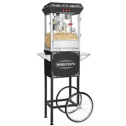 Superior Popcorn Black Movie Night Popcorn Popper Machine Ca