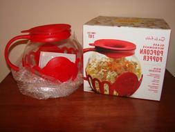 Epoca SUR LA TABLE Glass Microwave Popcorn Popper Maker 3 Qu