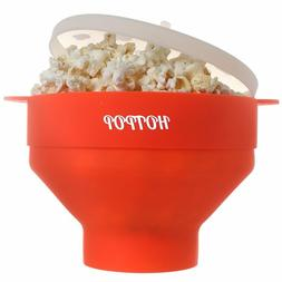 The Original HOTPOP Microwave Popcorn Popper, Silicone Popco