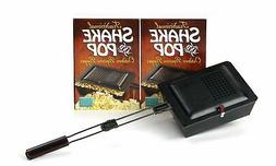 Traditional Shake and Pop Outdoor Popcorn Popper Light Weigh