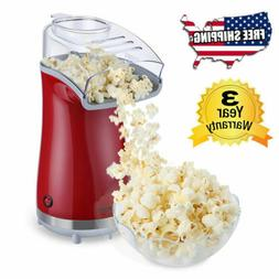Hot Air Pop Popcorn Machine Popper Maker Small Tabletop Home