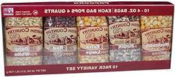 variety gift set 10 4 oz popcorn