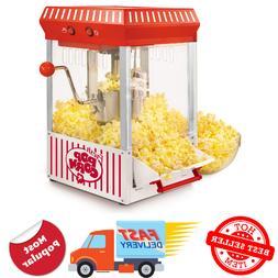 vintage collection kettle popcorn maker   nostalgia popper m