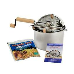 Wabash Valley Farms Stainless Steel Whirley-Pop  Real Theate