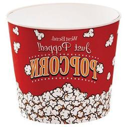 West Bend PC10636 7 Quart, Popcorn Bucket, Reusable
