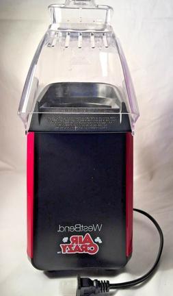 WestBend 4 Qt Air Crazy Hot Air Popcorn Machine W/Measuring