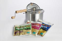 Whirley-Pop Gourmet Assorted Gift Set with Stovetop Popcorn