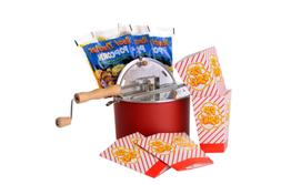 The Original Whirley Pop Stovetop Popcorn Popper Theater Sty
