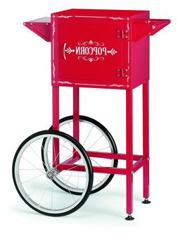 Waring WPM40TR Professional Popcorn Trolley - Chili Red