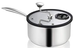 Ozeri Zippy Popcorn and Snack Maker in Nonstick Stainless St